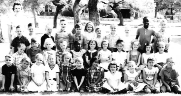 First grade at Hodges in 1964