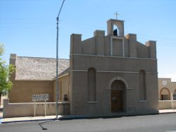 St. Joseph's Catholic Church in Fort Stockton
